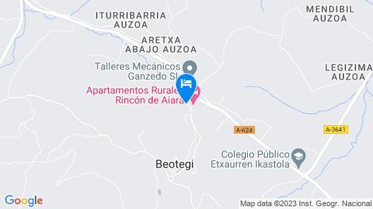 Casa Rural Mendieta Etxea Map