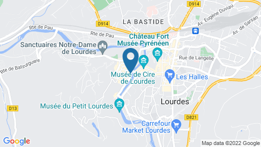 Appart'hotel Le Pelerin Map