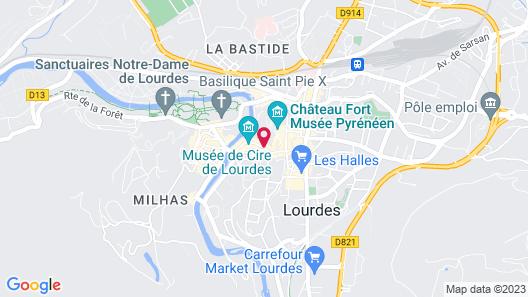 Belfry Spa by l'Occitane - Les Collectionneurs Map