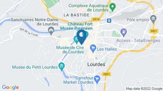 Belfry Spa by l'Occitane - Les Collectionneurs Map