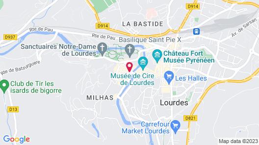 Hotel Agena Map
