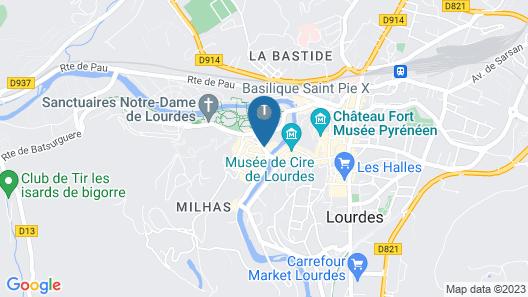 Hotel La Solitude Map