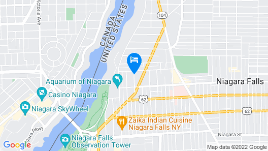 The Butler House Bed and Breakfast Map