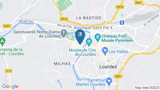 Grand Hôtel Gallia Chapelle & Spa NUXE Map
