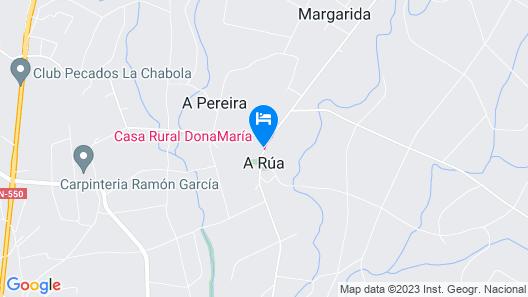 Casa DonaMaría Map