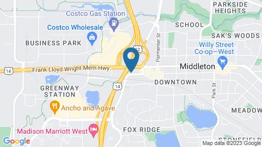 Staybridge Suites Middleton Madison-West, an IHG Hotel Map