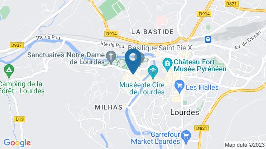 Hotel Saint Sauveur Map