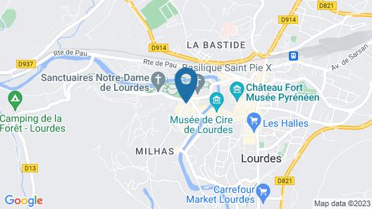 Hotel Panorama Map