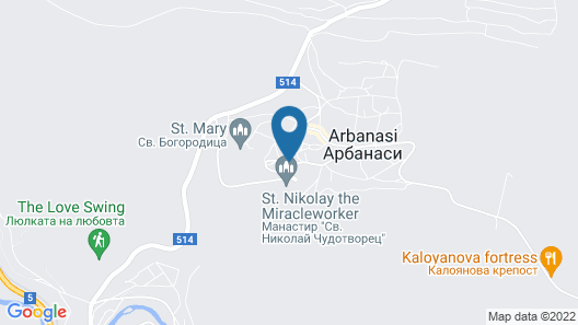 Park Hotel Sevastokrator Map