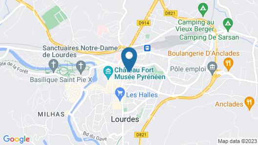 Lourdes Guesthouse Map