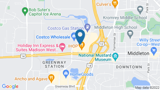 Courtyard by Marriott Madison West Middleton Map