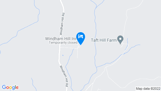 Windham Hill Inn Map