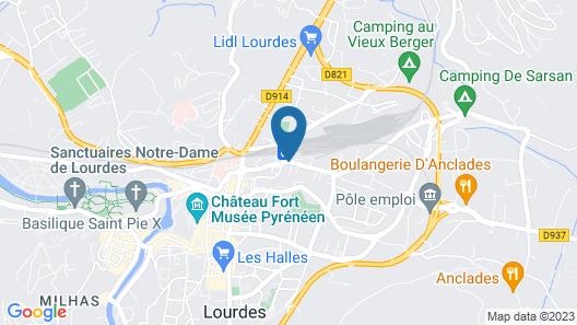 Appart'hôtel - Résidence La Closeraie Map