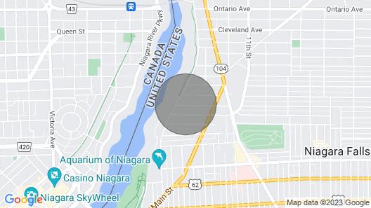 Hear the Roar of Niagara Falls Map