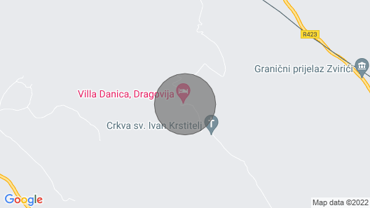 Villa Danica - Metkovic Map