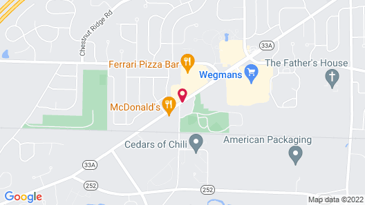 Microtel Inn & Suites by Wyndham Chili/Rochester Airport Map
