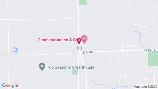 Candlestone Resort Map