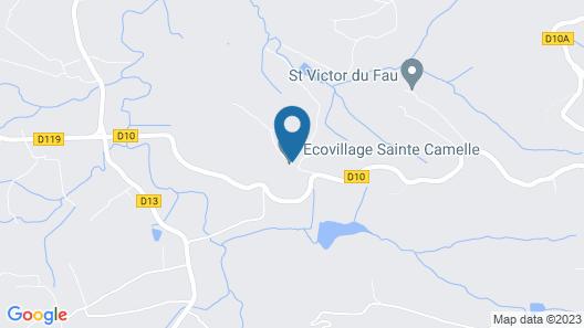 Cabanes Sainte Camelle Map