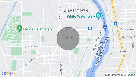 Dreamwood- Private Niagara Falls Escape Map