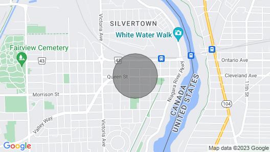 Cozy & Clean Apt Nr Niagara Falls Map