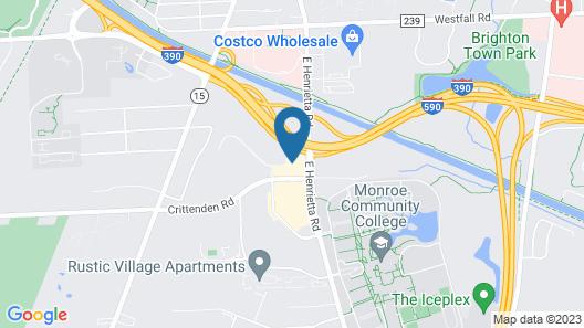Holiday Inn Express Rochester - University Area, an IHG Hotel Map