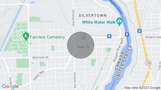 Niagara Falls Executive Suites - Unit 1 Map