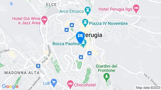 Sina Brufani Map