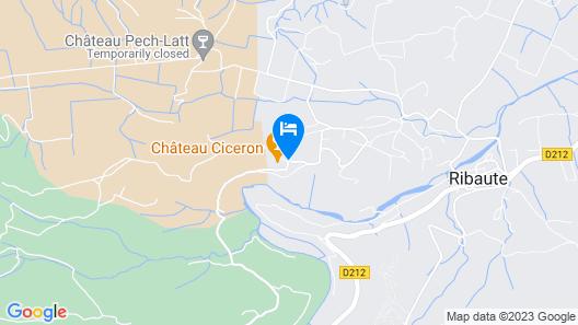Chateau Cicéron Map