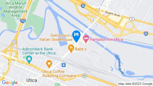 Days Inn by Wyndham Utica Map