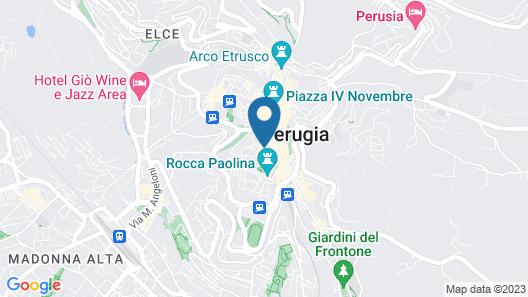 Locanda della Posta Boutique Hotel Map
