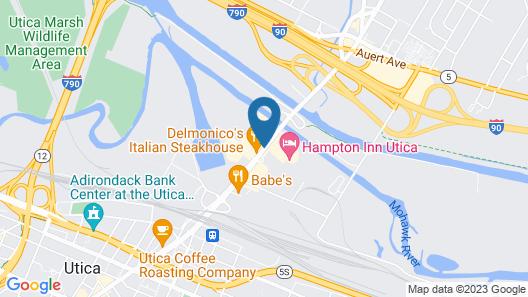 Best Western Gateway Adirondack Inn Map