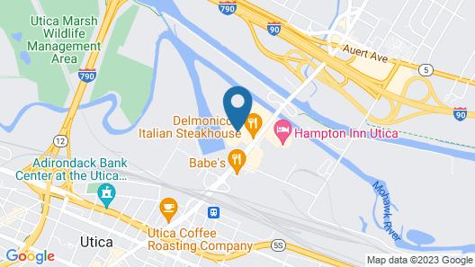 Holiday Inn Express & Suites Utica, an IHG Hotel Map