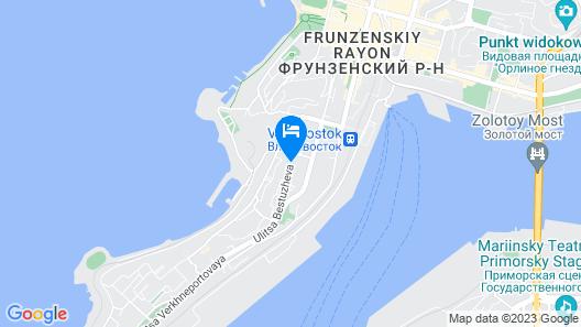 Zhemchuzhina Hotel Vladivostok Map