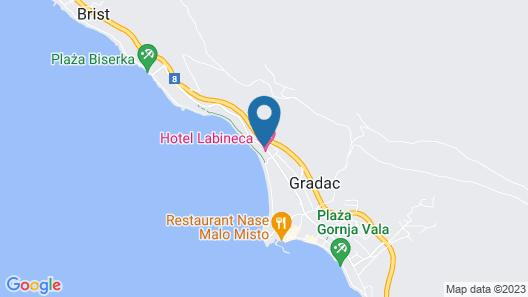 Hotel Labineca Map