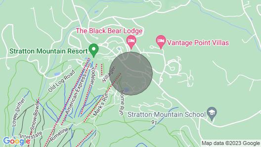 Ski on ski off condo Map