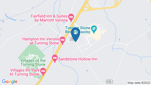 Turning Stone Resort And Casino Map