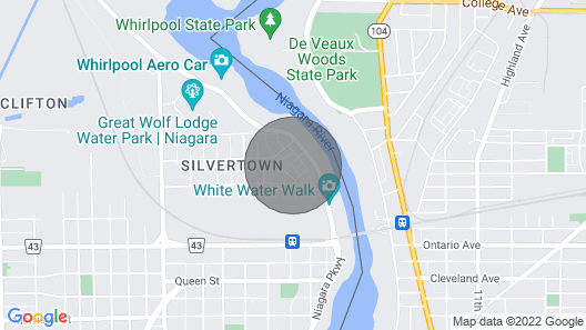 Your own private oasis in Niagara Falls, Ontario Canada Map