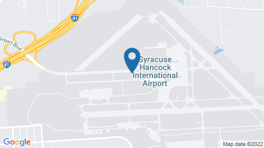 Surestay Plus by Best Western Syracuse Airport Htl Map