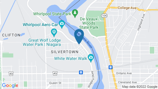 River Rapids Inn Map
