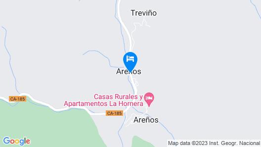 Hotel Cosgaya Map