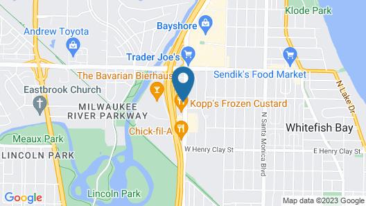 La Quinta Inn & Suites by Wyndham Milwaukee Bayshore Area Map