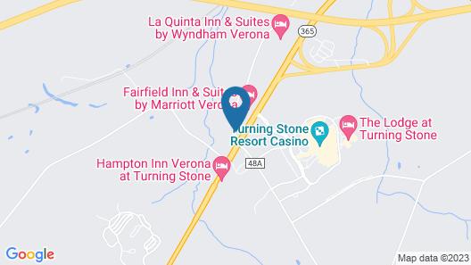 Fairfield Inn & Suites by Marriott Verona Map