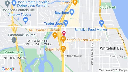 Motel 6 Milwaukee, WI - Glendale Map