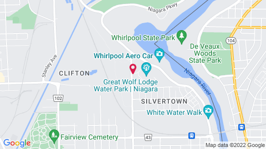 Great Wolf Lodge Niagara Falls Map