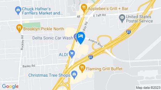 Holiday Inn Express Syracuse Airport Map