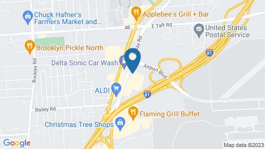 Holiday Inn Express Syracuse Airport, an IHG Hotel Map