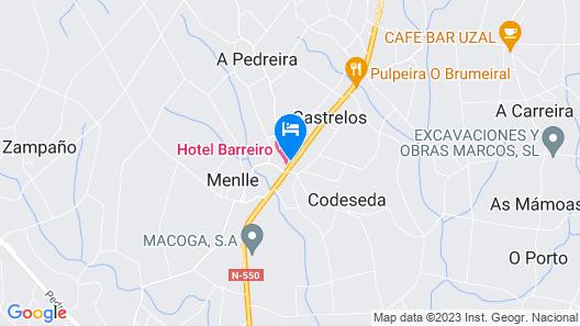 Hotel Barreiro Map