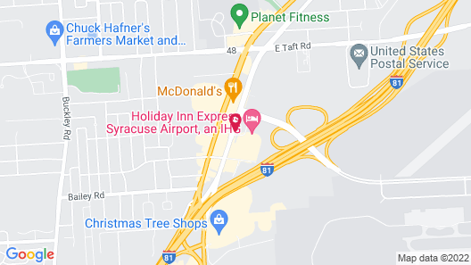 Candlewood Suites - Syracuse Airport, an IHG Hotel Map