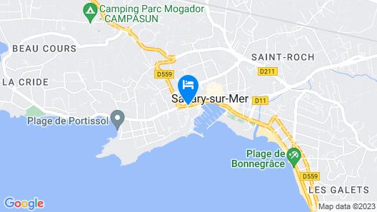 Hôtel Holidays & Work Map