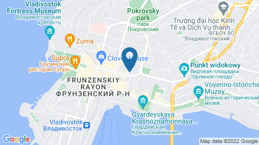 LOTTE Hotel Vladivostok Map
